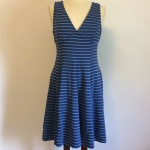 Peter Som for Design Nation Striped Skater Dress